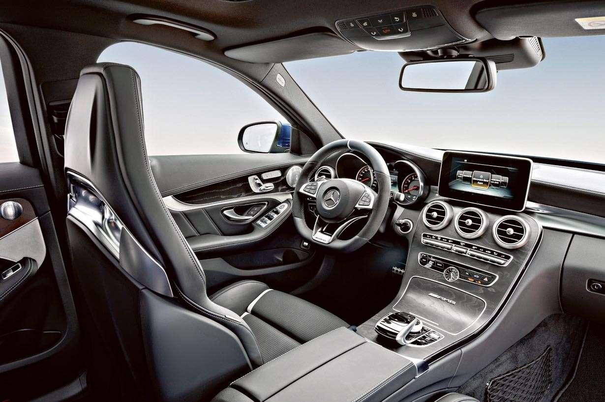 Mercedes-AMG C63 (BR205); 2014