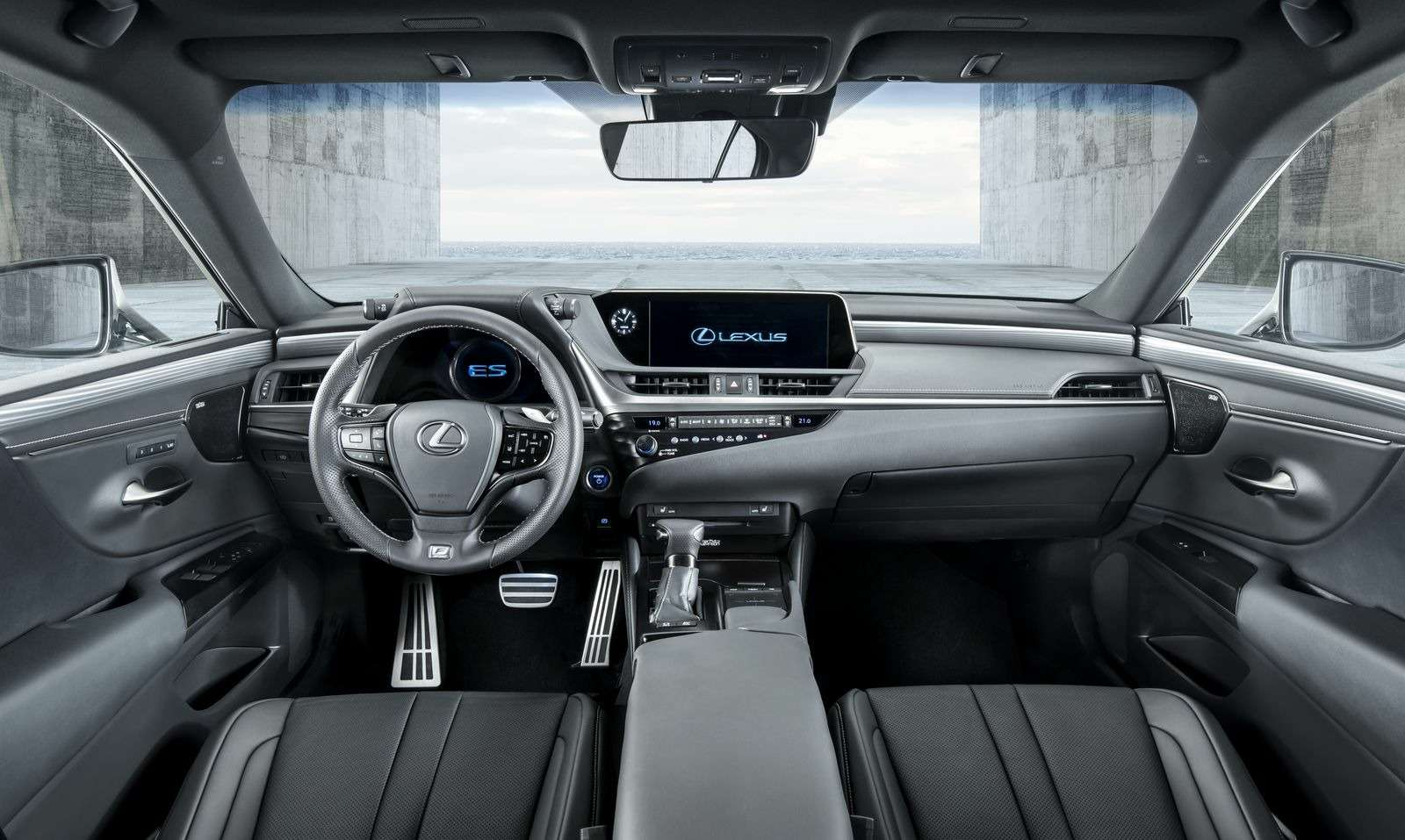 Новый Lexus ES: без полного привода итурбомоторов— фото 865662