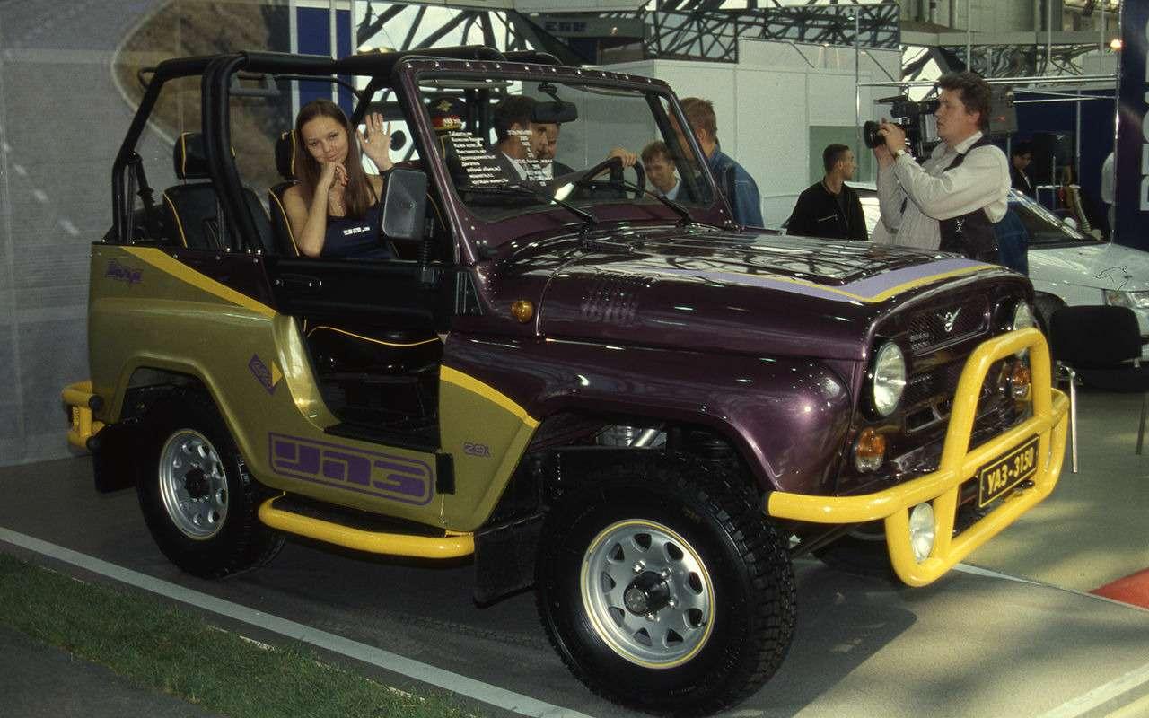 «Козлик» УАЗ-469— таких модификаций выточно не видели!— фото 978728