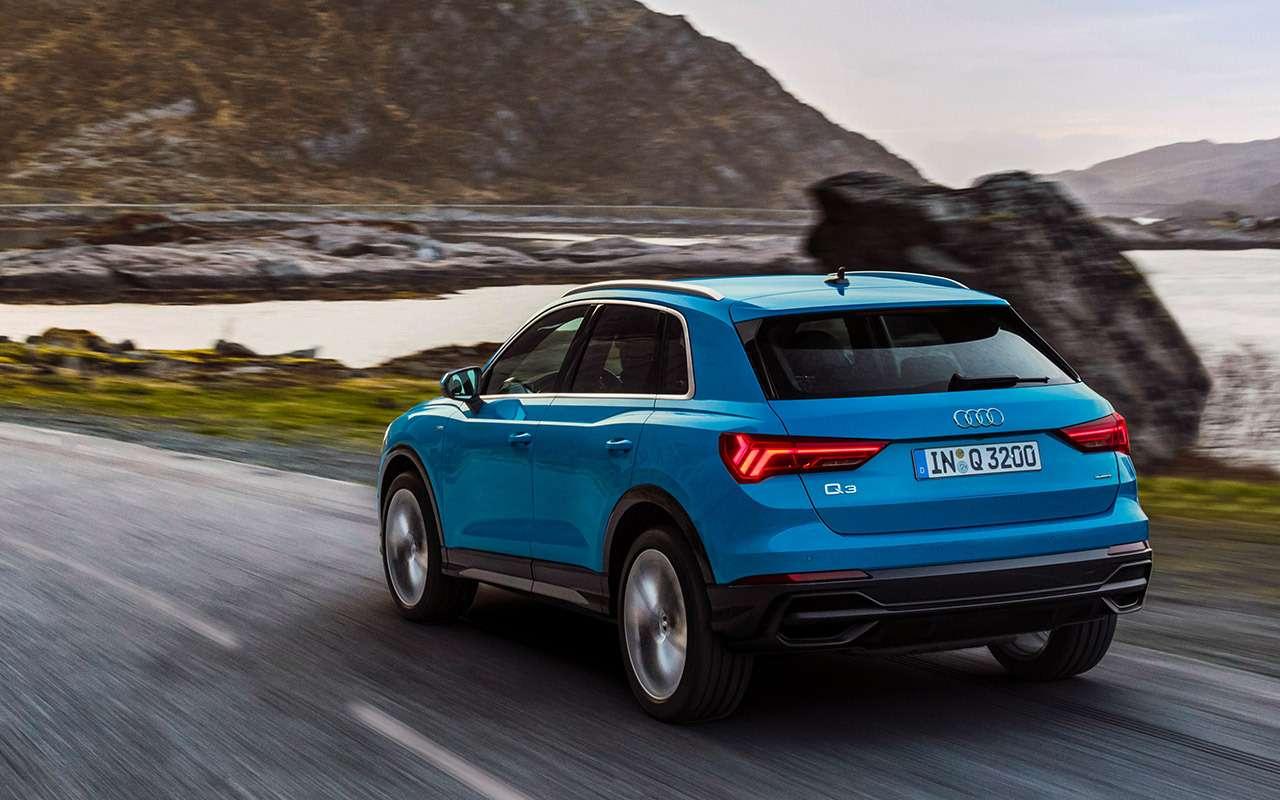 Тест нового Audi Q3— европейской сборки, носроссийскими нюансами