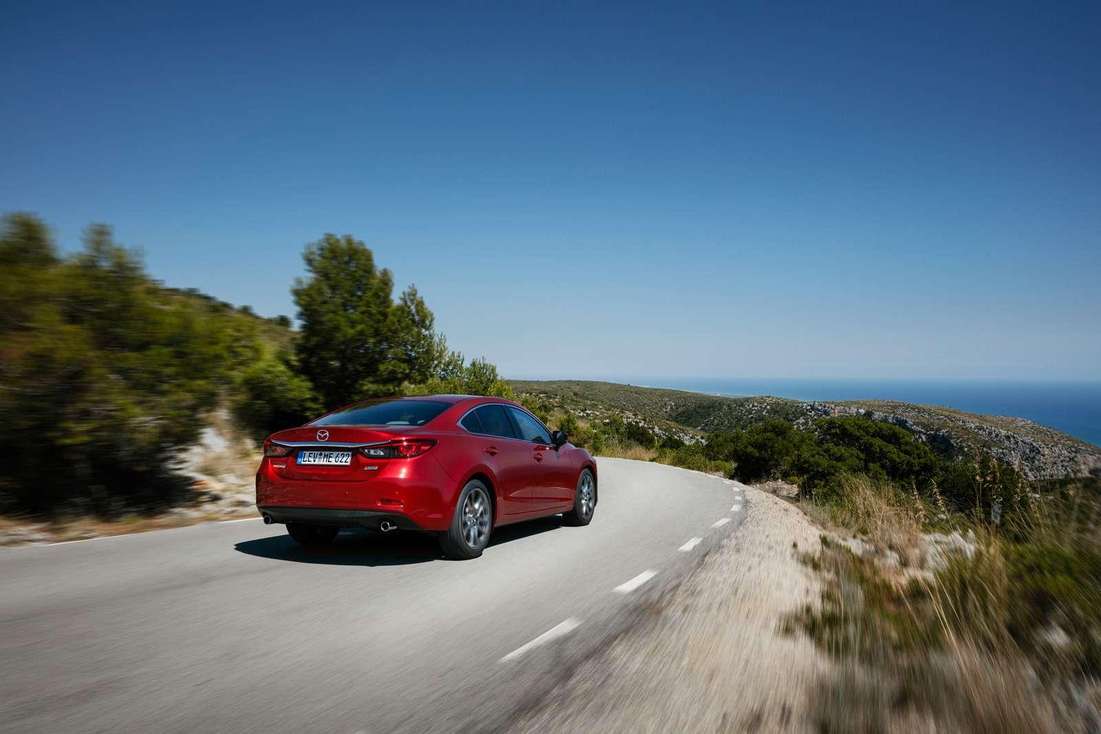 Обновленная Mazda 6выходит нароссийский рынок— фото 637730