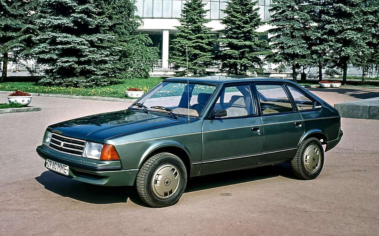 Опытный образец Москвич-2141 1981