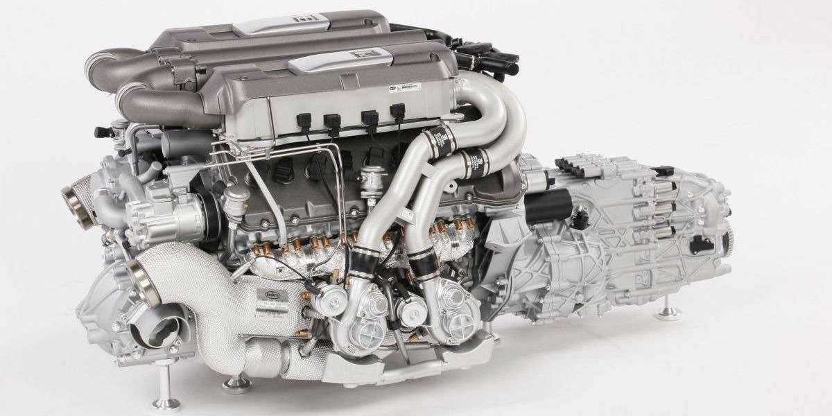 Двигатель Bugatti Chiron оценили в9365 долларов. Неработающий ималенький— фото 807234