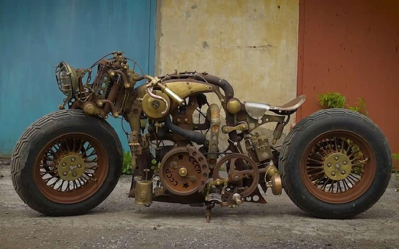 Проект «СССР»— уникальный мотоцикл изТулы