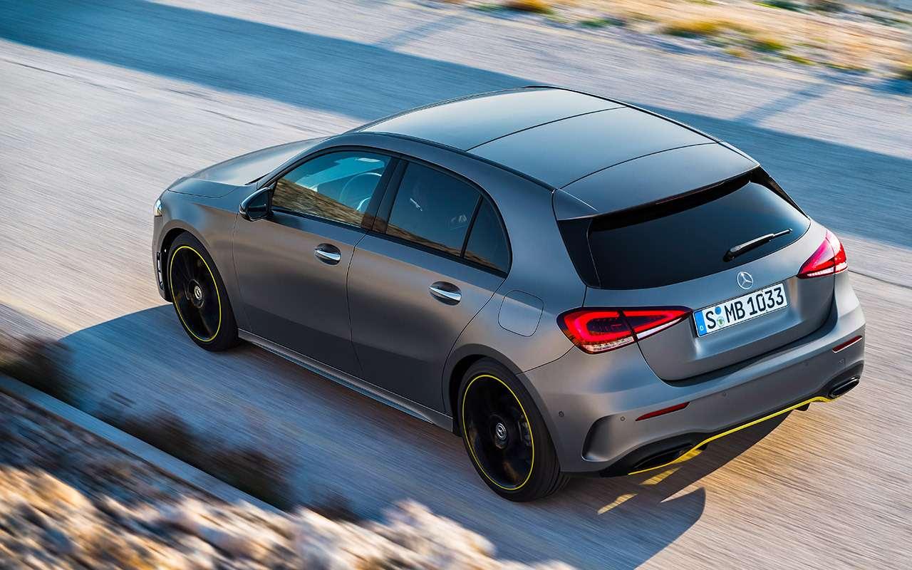 Новый Mercedes-Benz А-класса— первая встреча— фото 853344