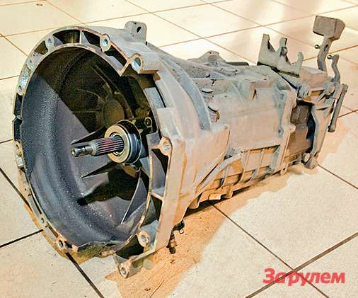 Коробку передач, особенно продольную, ремонтируют крайне редко