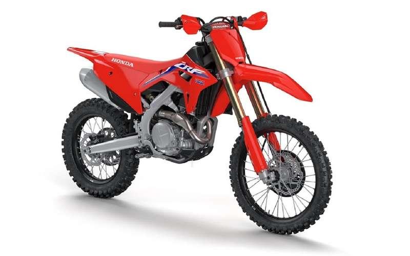 Еще один интересный мотоцикл отХонды— CRF450RX