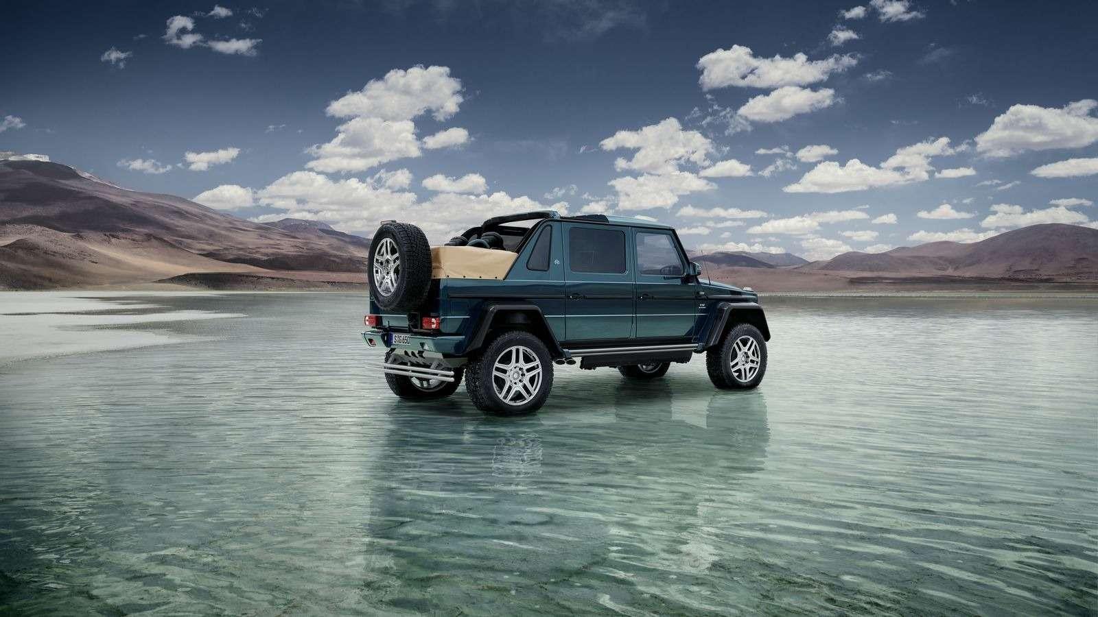 Mercedes-Maybach представил люксовый кабриолет G-класса— фото 706750