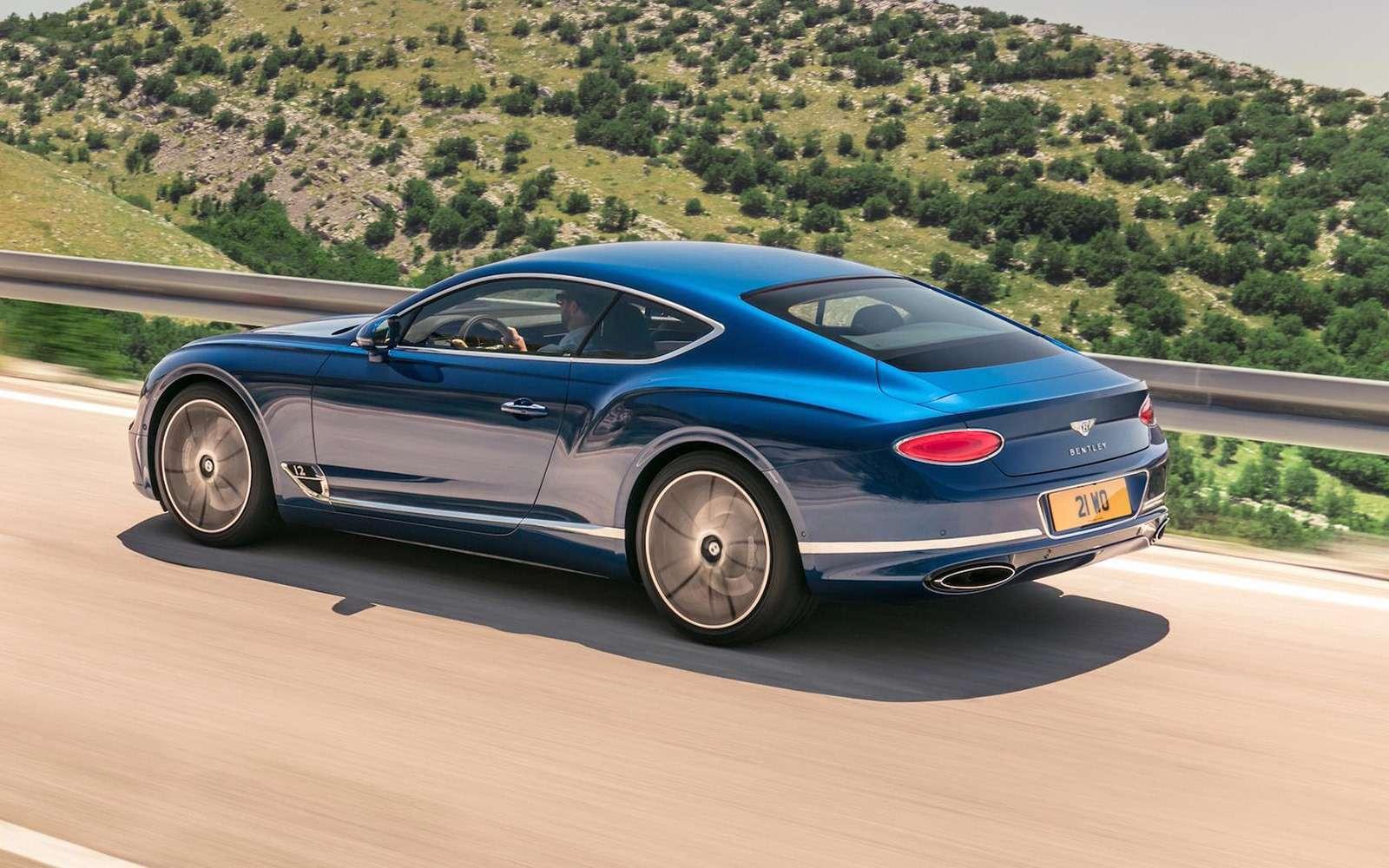 Новый Bentley Continental GT: двухдверная Panamera по-британски— фото 789196