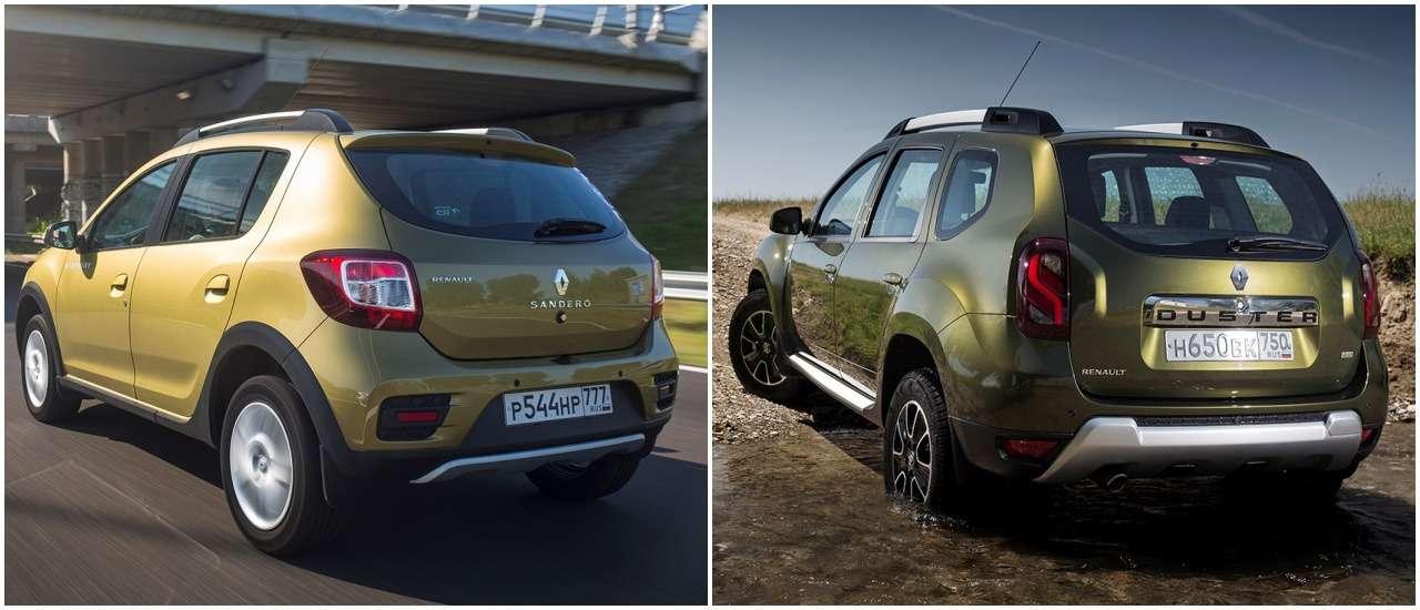 «Нафаршированный» Renault Sandero Stepway или «пустой» Duster: что выбрать?— фото 890419