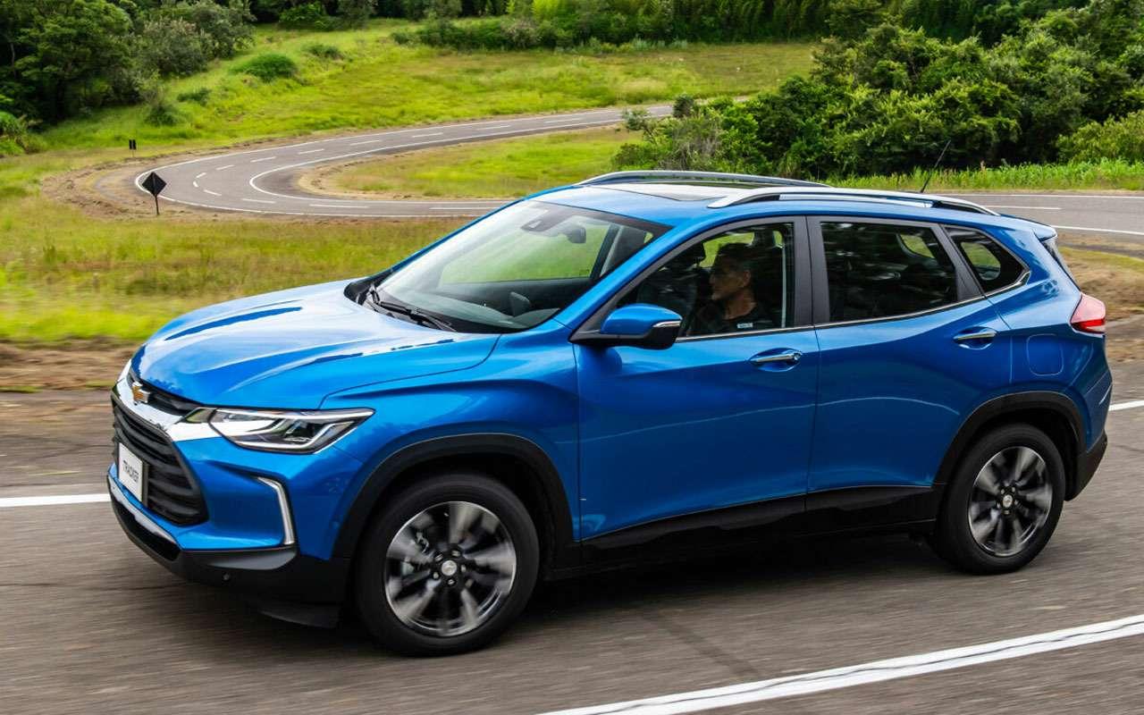 Новый Chevrolet Tracker— ждать ливРоссии— фото 1208943