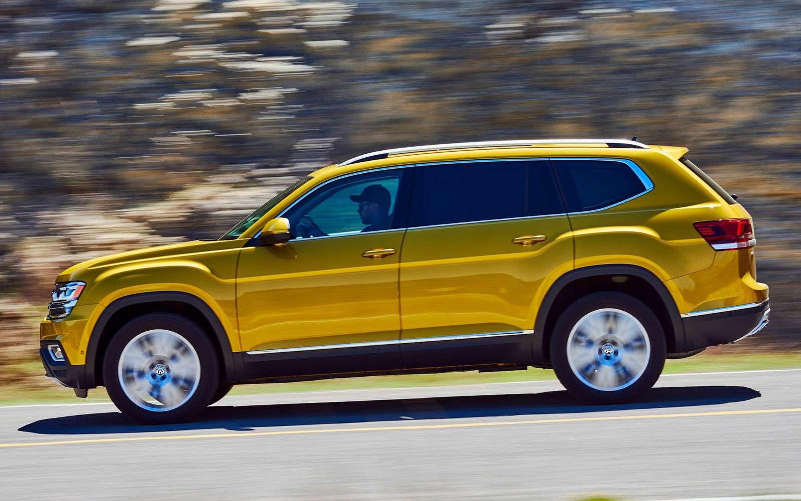 Volkswagen Teramont: оноказался дешевле конкурентов— фото 845582