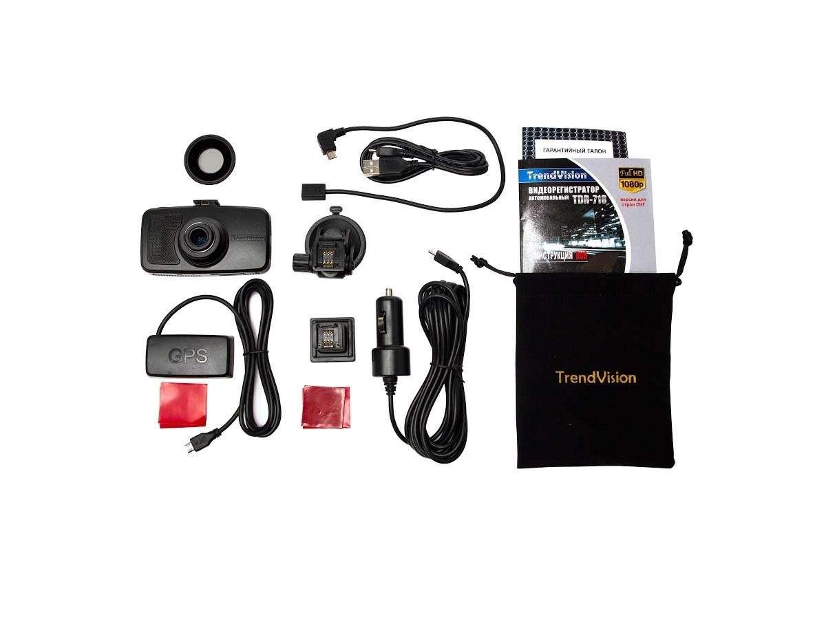 Видеорегистраторы TrendVision TDR-718GP иMR-710GP: взеркальном отражении— фото 387635