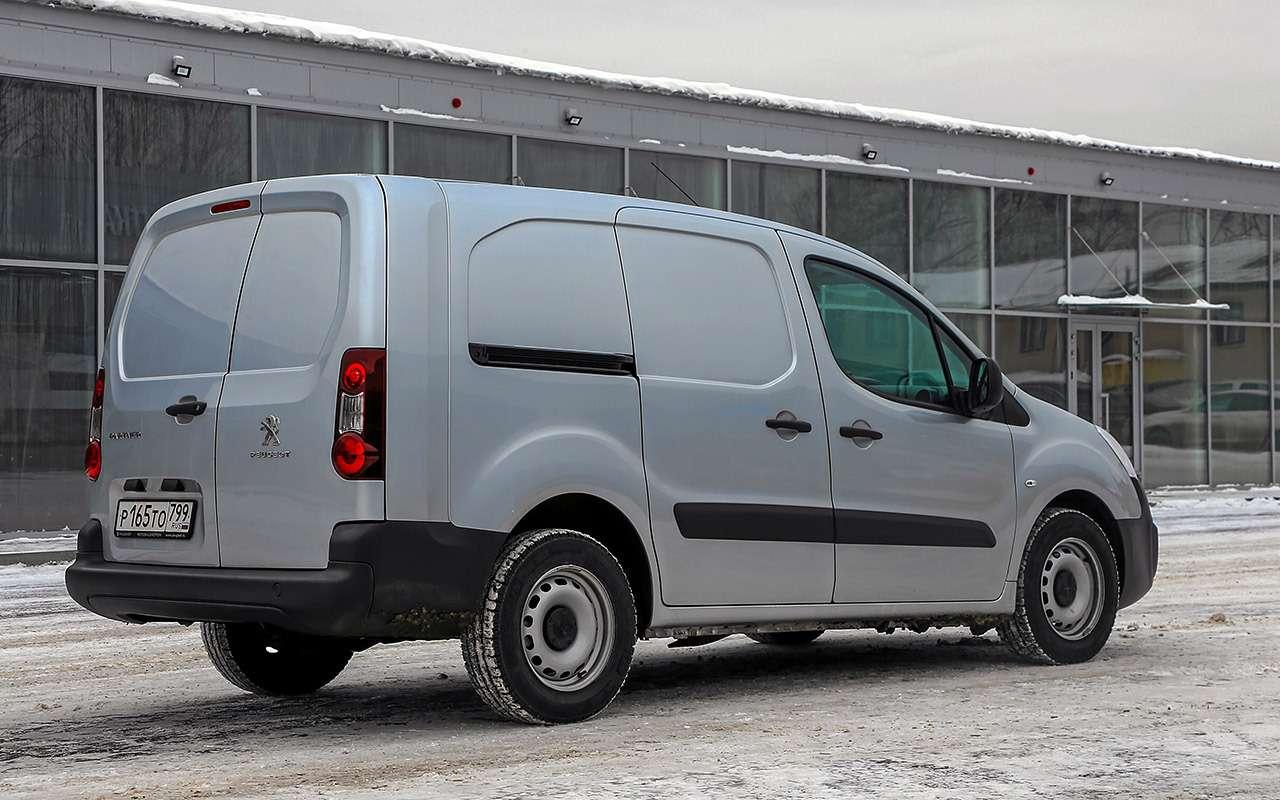 Peugeot Partner изКалуги: рассмотрели совсех сторон!— фото 1231040