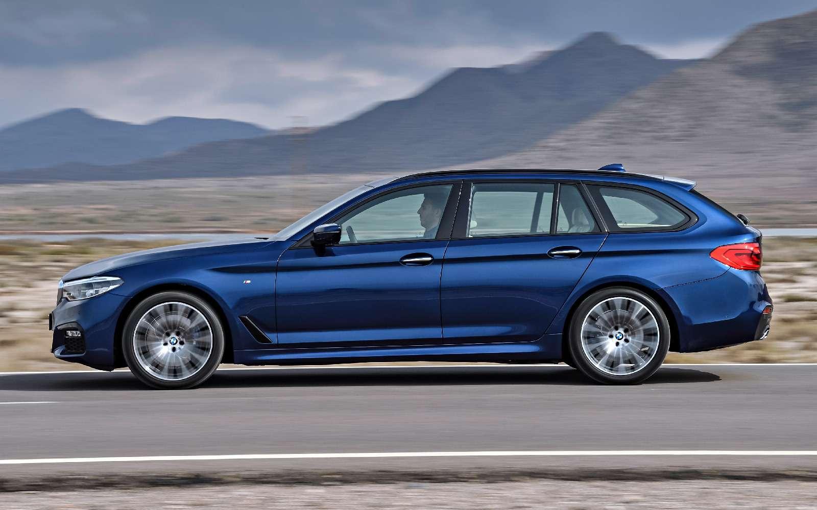 Новая «пятерка» BMW— теперь искузовом универсал— фото 701193