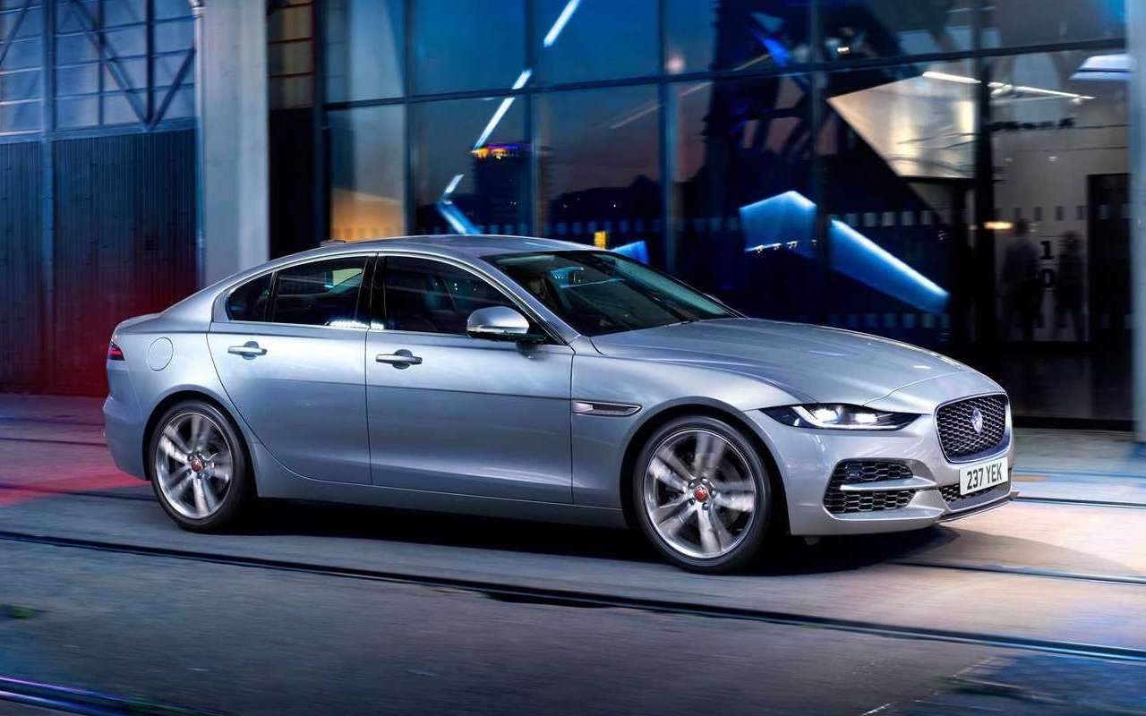 Jaguar представил обновленный XE— фото 952733