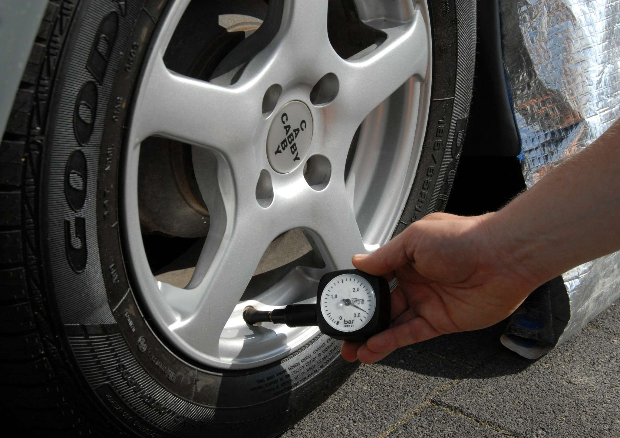 GoodYearCaravan Tire Pressure no copyright