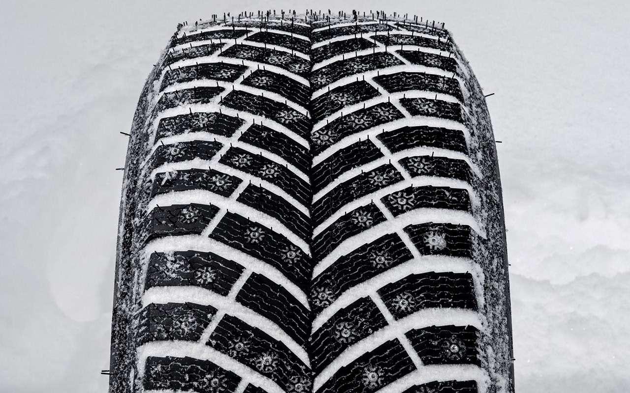 Большой тест шипованных шин: дорогие, подешевле и«никакие»— фото 1003230