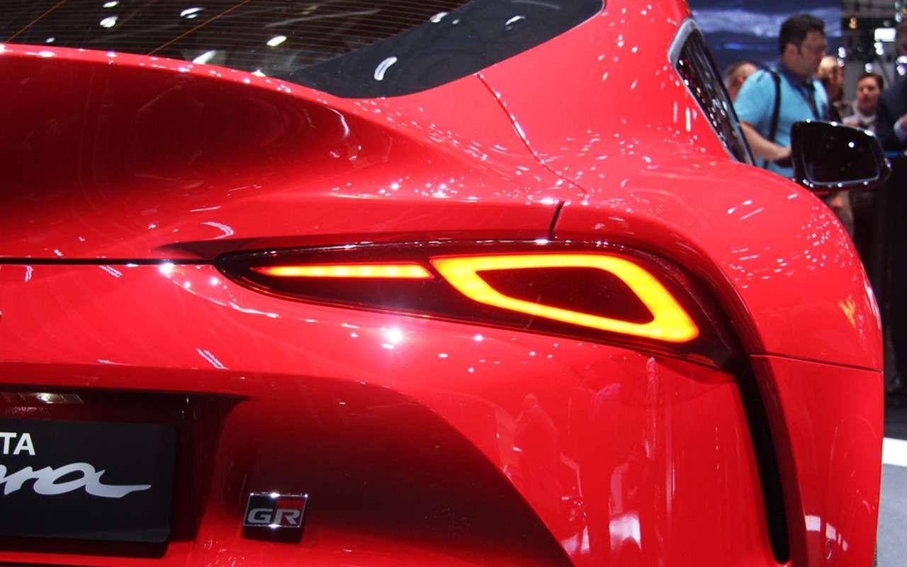 Новая Toyota Supra— легенда возвращается (ивРоссию тоже!)— фото 955291