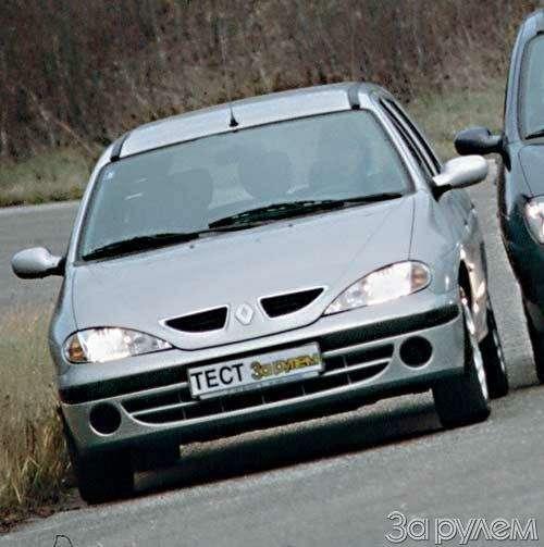 ТЕСТ Renault Kangoo, Renault Megane Break, Renault Scenic. ХОРОШЕЙ МАШИНЫ ДОЛЖНО БЫТЬ МНОГО!— фото 22628