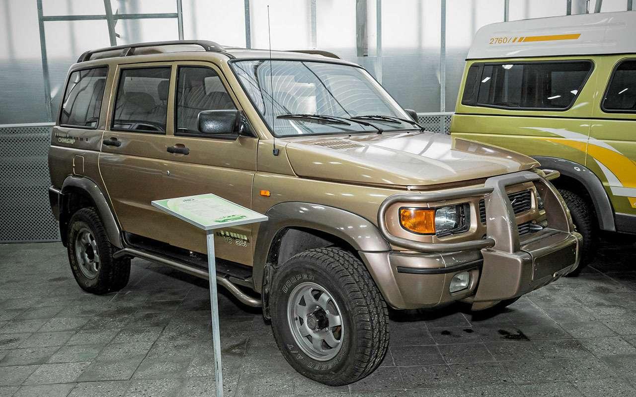 15историй про УАЗ Патриот, которых вынезнали (скорее всего)— фото 1091279