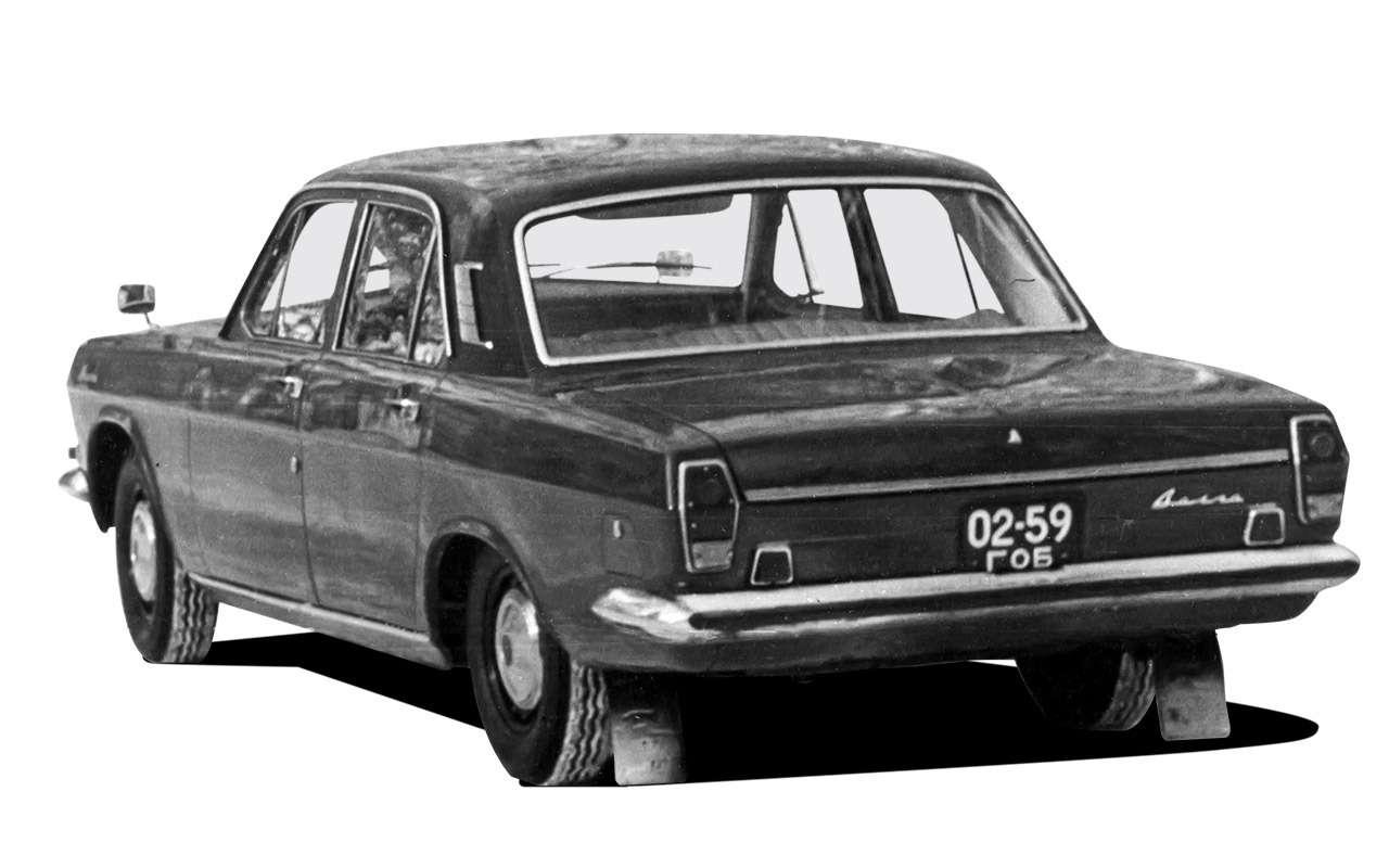 Самая популярная Волга: ГАЗ-24и еезарубежные аналоги— фото 1153083