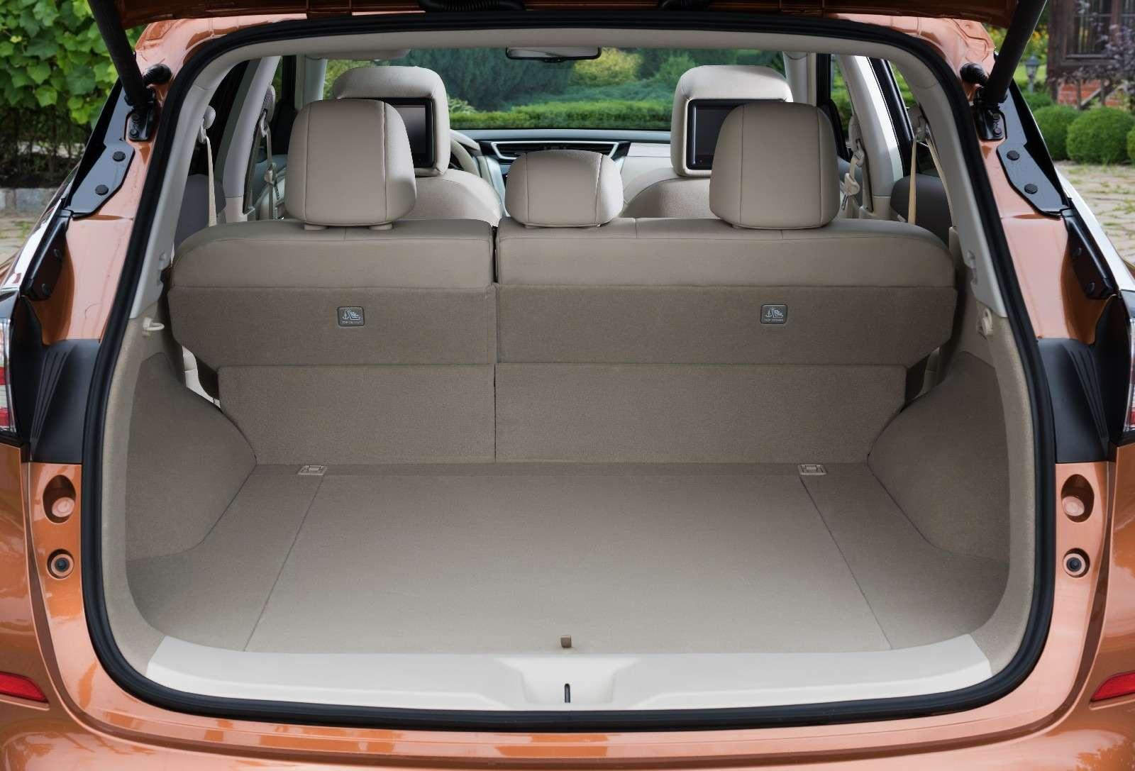 Объявлены рублевые цены нановый Nissan Murano— фото 614372