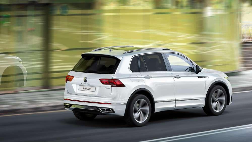 Обновленный Volkswagen Tiguan: цены икомплектации— фото 1208339