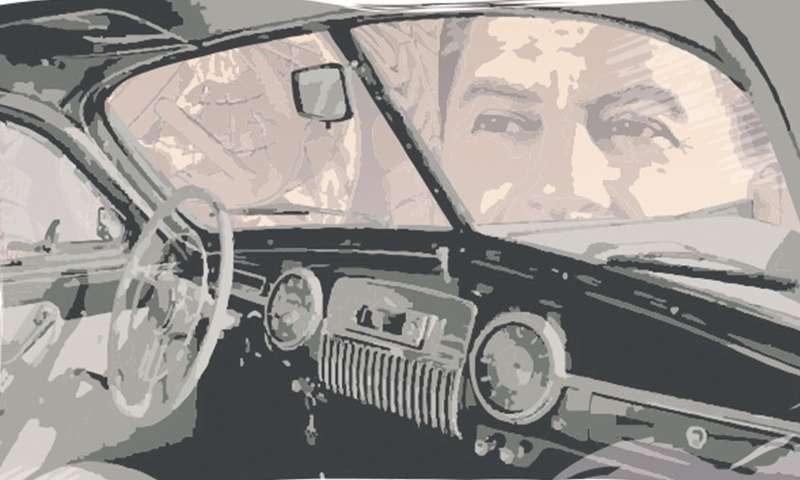 Советский лимузин: астекла-то насаморезах!