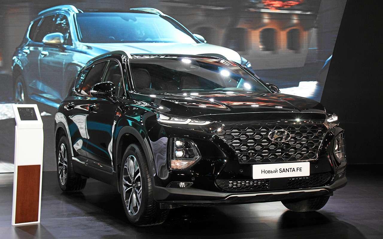 Появилась новая комплектация Hyundai Santa Fe— Black&Brown— фото 900670