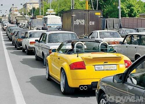 Тест Audi TT. ИГРУШКА  КРУПНОГО КАЛИБРА— фото 29797