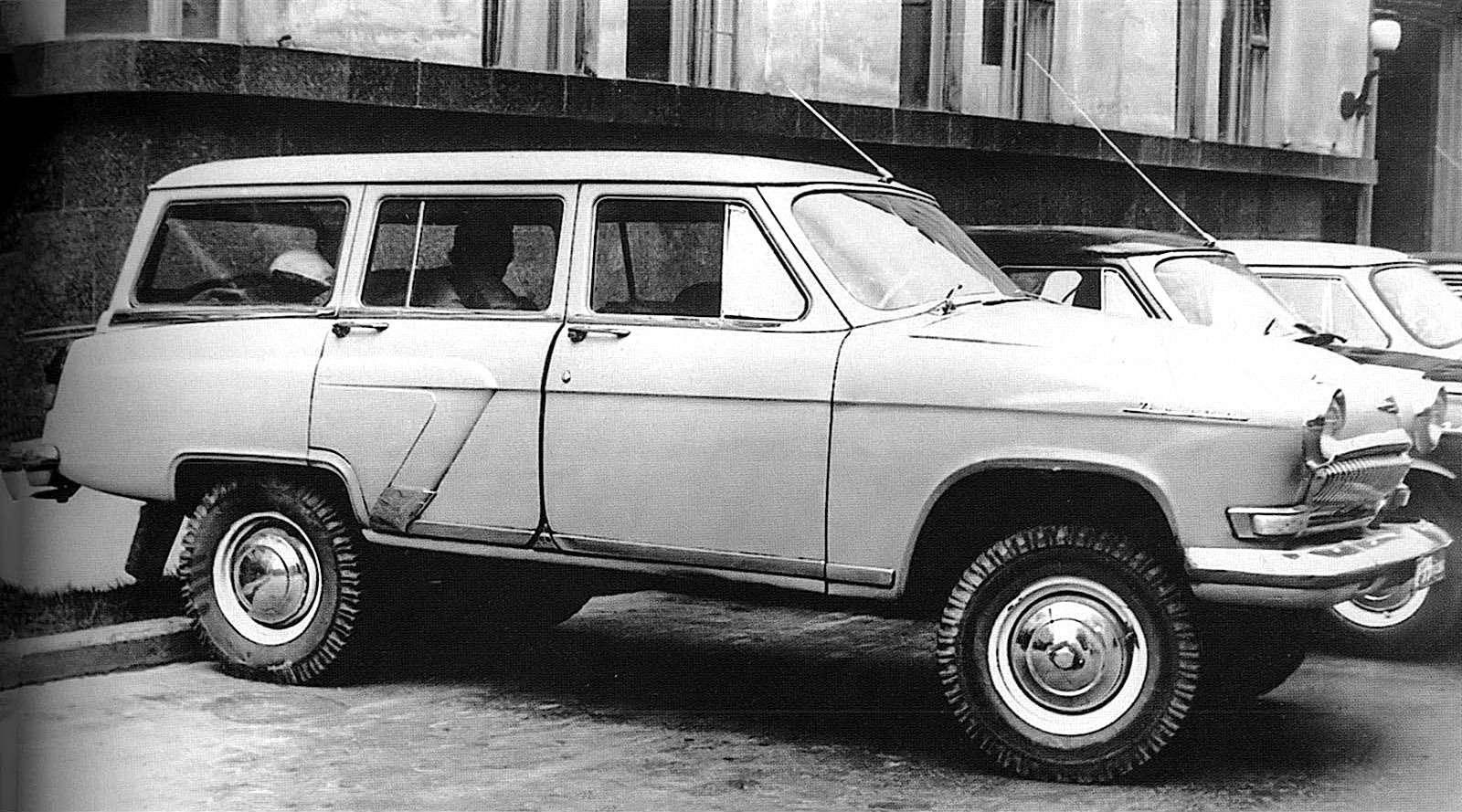 полноприводный ГАЗ-22