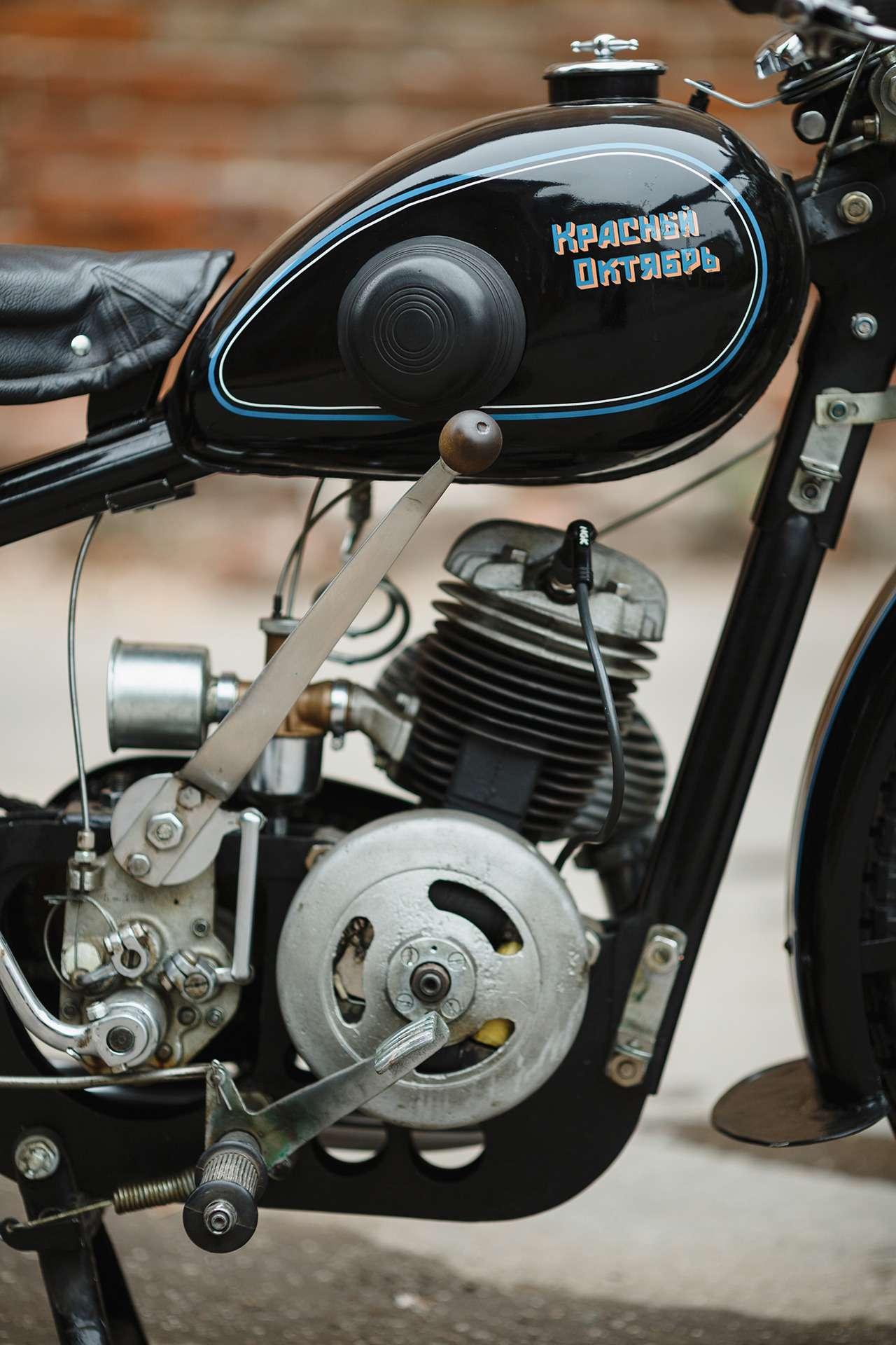 Первый серийный советский мотоцикл: история одной копии— фото 908504
