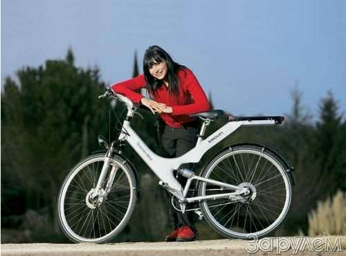 «мерседес» изобрел…  велосипед - фото 56103
