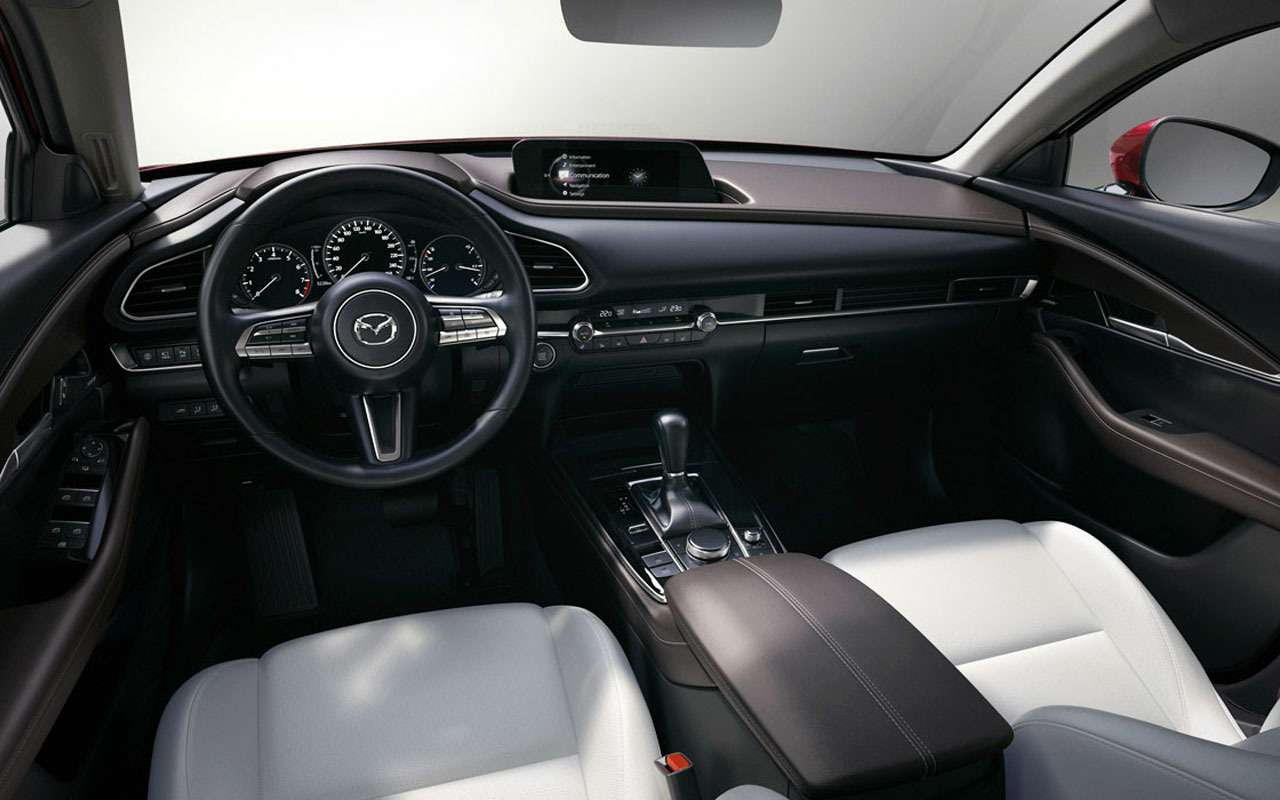 Mazda везет вРоссию новый кроссовер— фото 1020412
