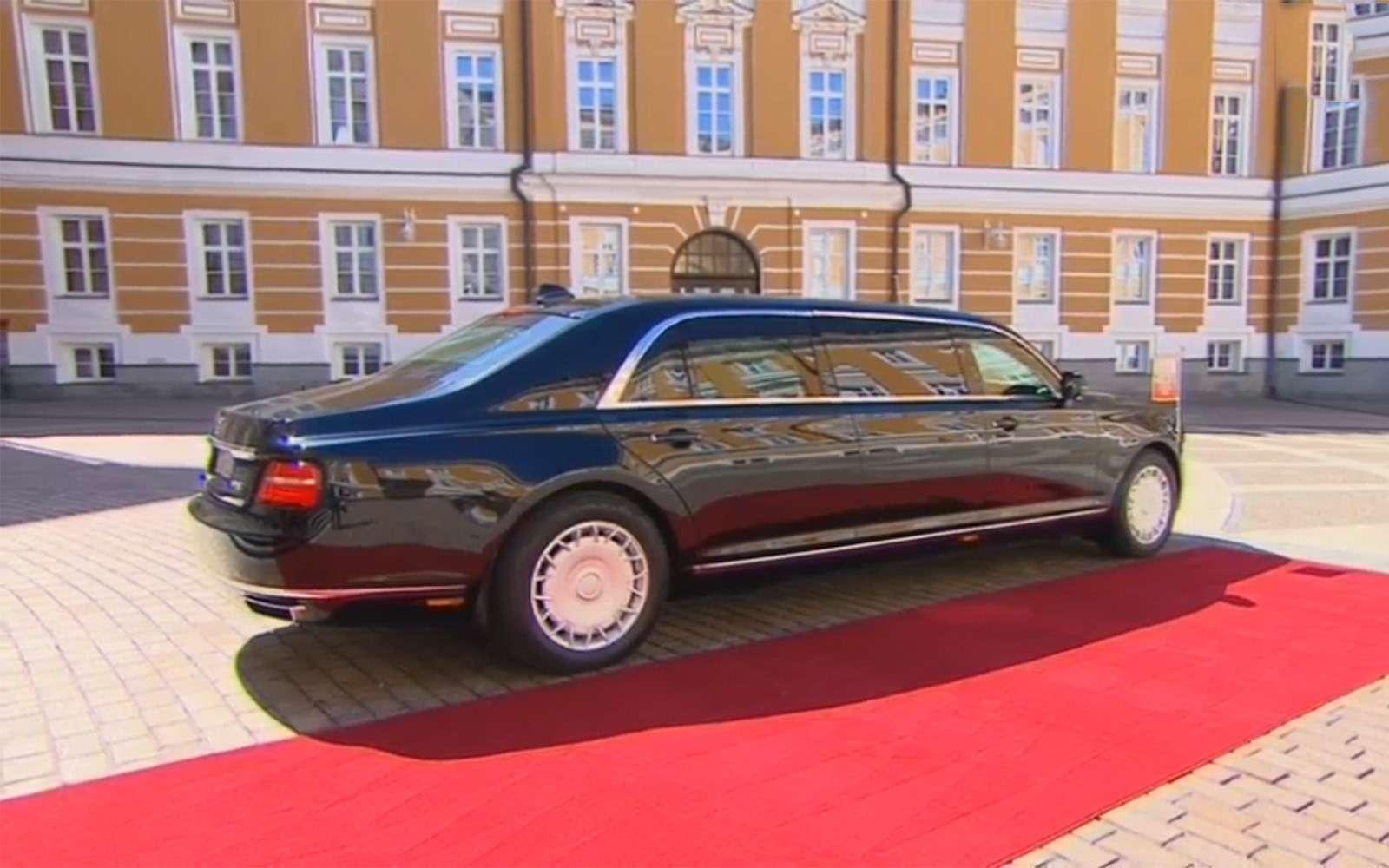 «Кортеж»: первые фото президентского лимузина— фото 868446
