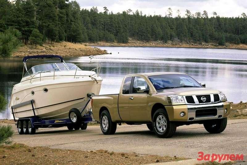 Nissan Titan 2004 1600x1200 wallpaper 06