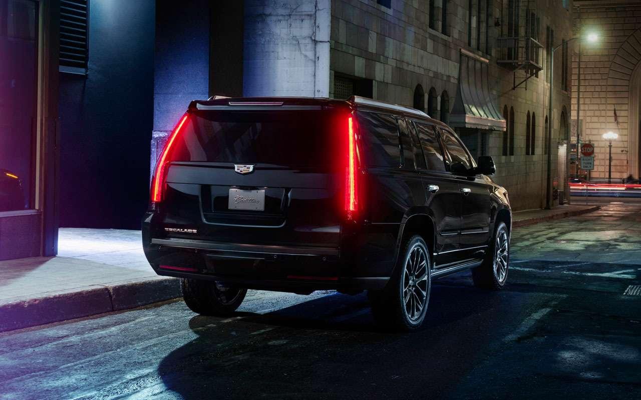 Cadillac начал продажи особенного кроссовера— фото 978003