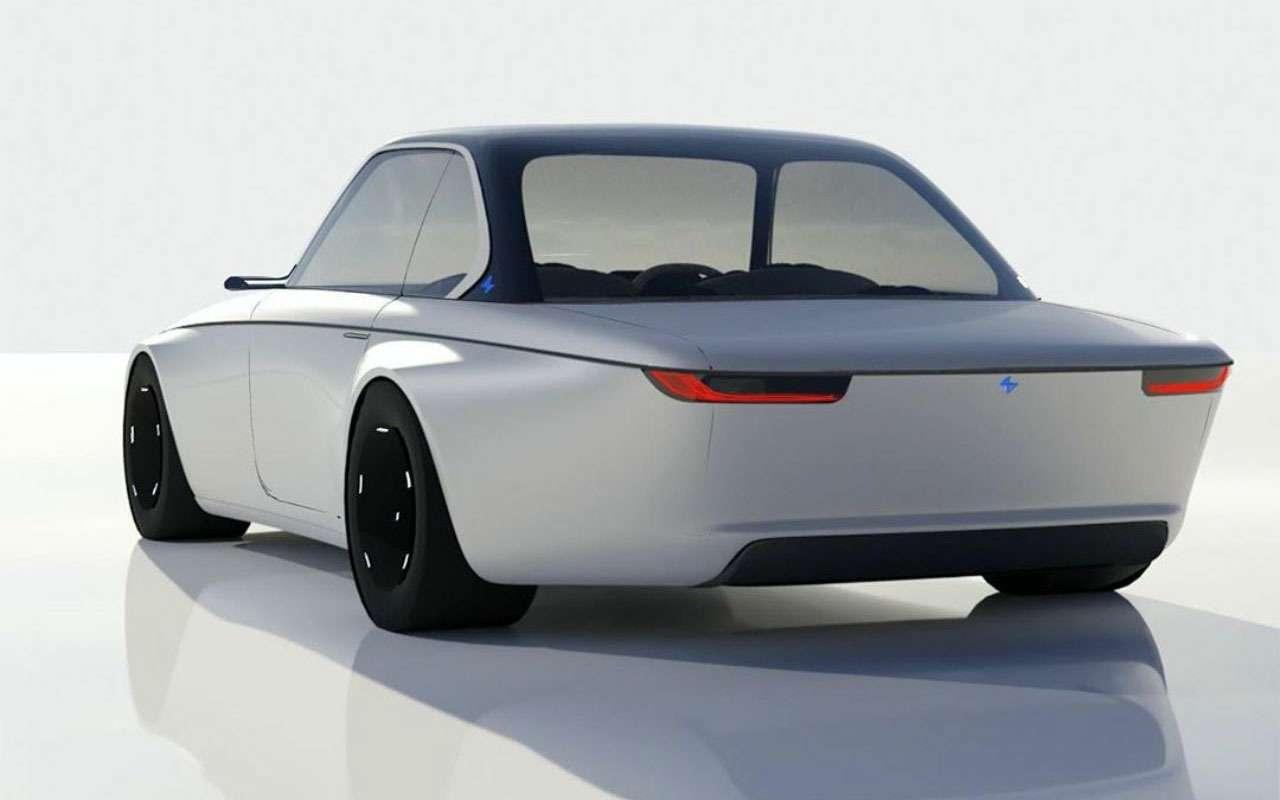 Дизайнер Ford нарисовал BMW будущего. Выглядит странно— фото 1198903