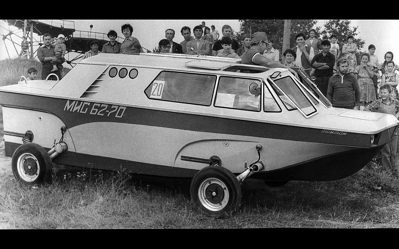 15уникальных самодельных автомобилей времен СССР— фото 809924