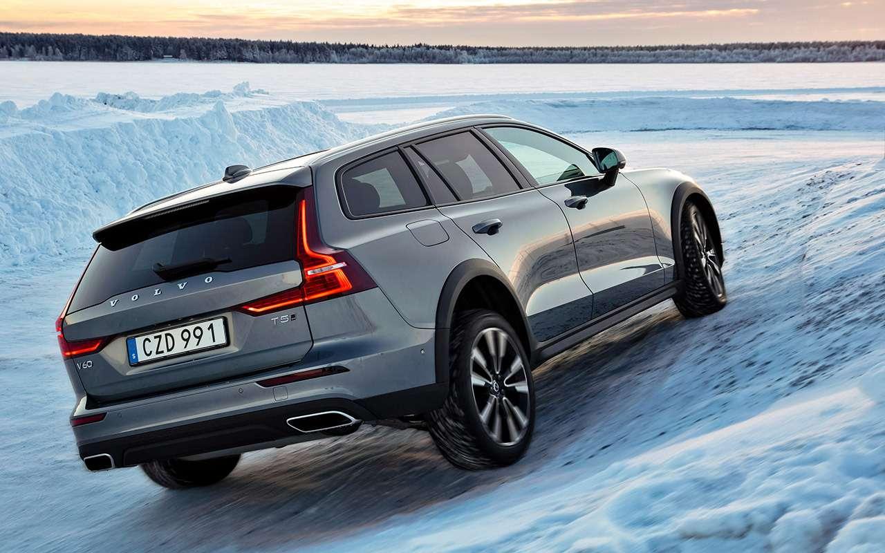 Универсал Volvo V60 Cross Country— тест наснегу ильду— фото 950850