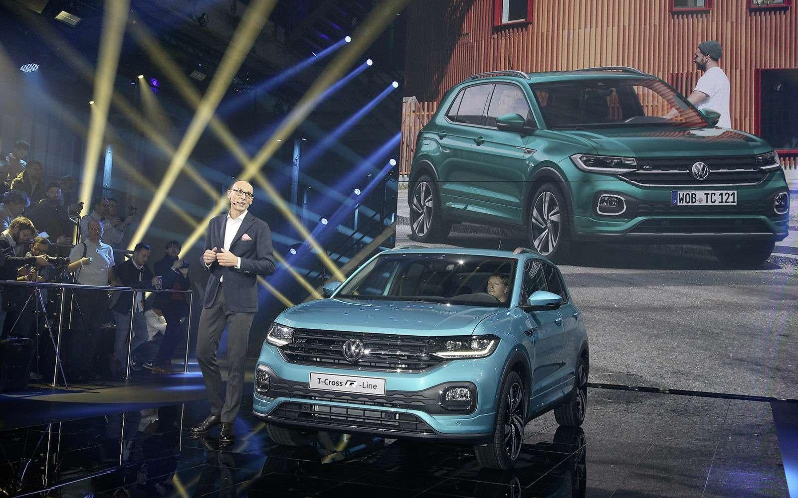 Новый кроссовер Volkswagen: онпоявится вРоссии!— фото 918187