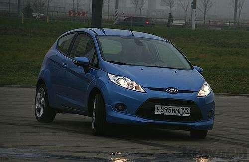 Тест Ford Fiesta Sport: Кинетический антидепрессант (ВИДЕО)— фото 5936