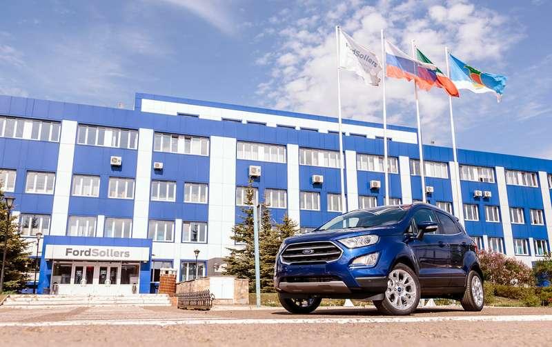 В РФ стартовало производство нового кроссовера Форд EcoSport