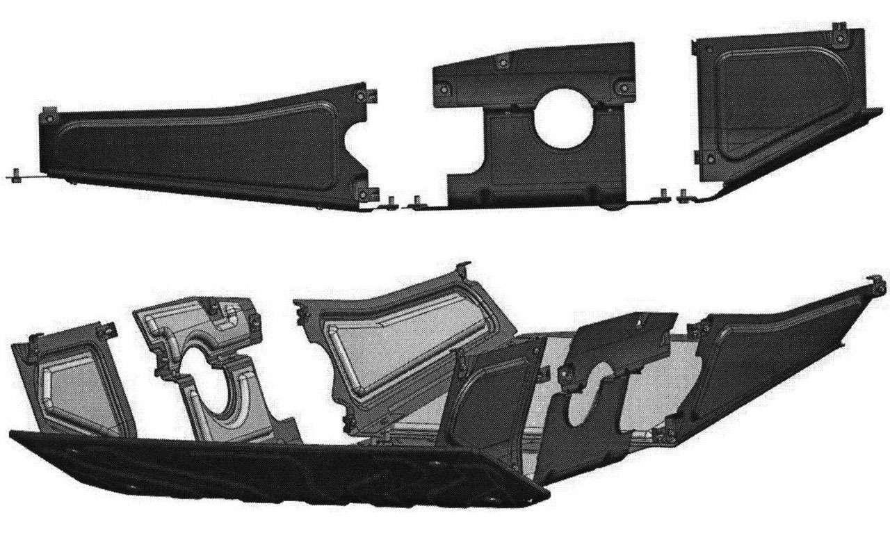 Новый УАЗ Патриот получит стальную защиту сшумоизоляцией— фото 1119777