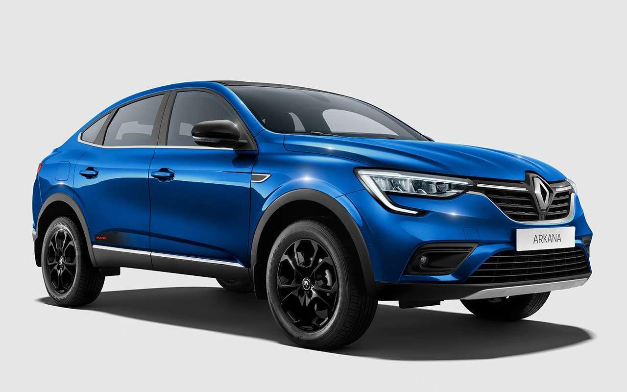 Честный тест-драйв Renault Arkana (в роли владельца) - фото 1262636