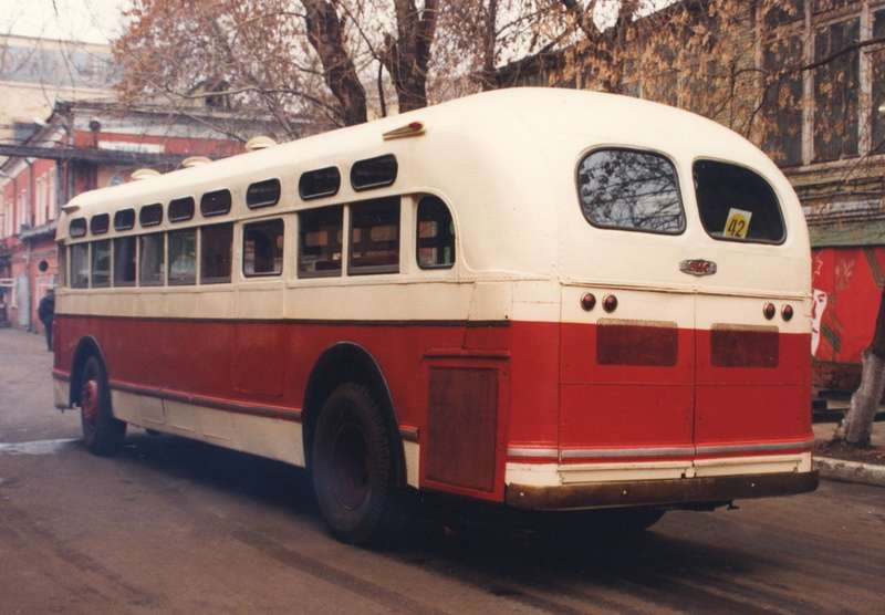 Единственный ЗиС-154 находится сегодня вколлекции музея Мосгортранса. Фото Александра Страхова-Баранова