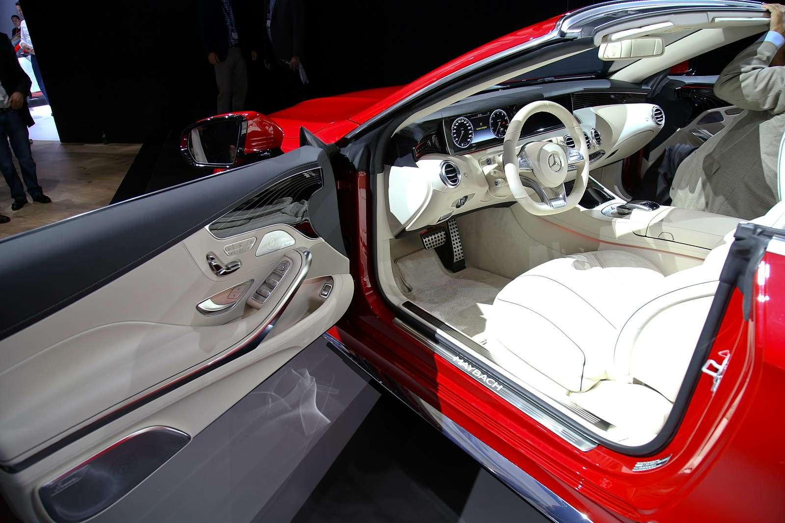 Царская особа: Mercedes-Maybach S650 Cabriolet раскрывает тайны— фото 665265