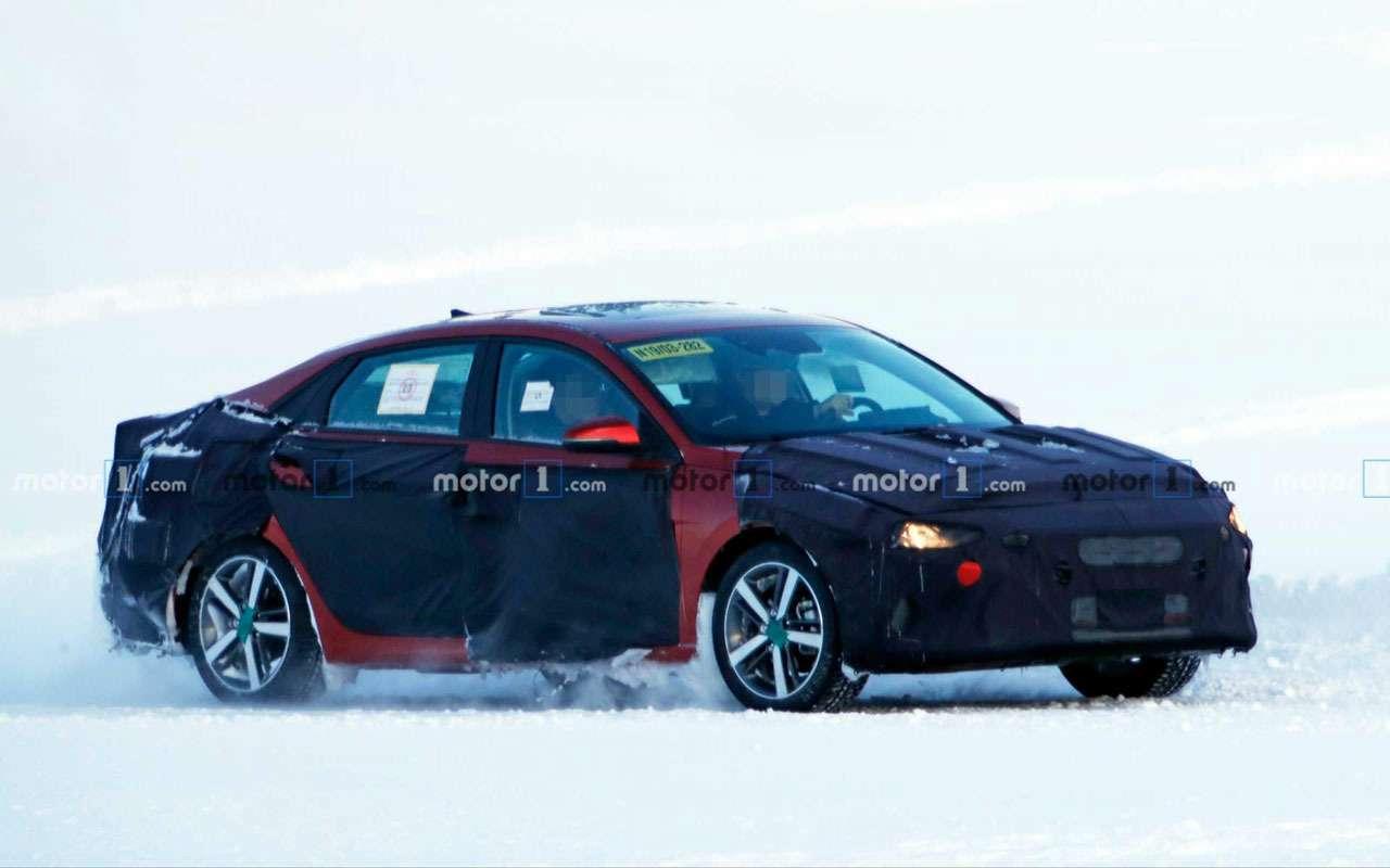 Самая скрываемая новинка Hyundai— фото сиспытаний— фото 1076924