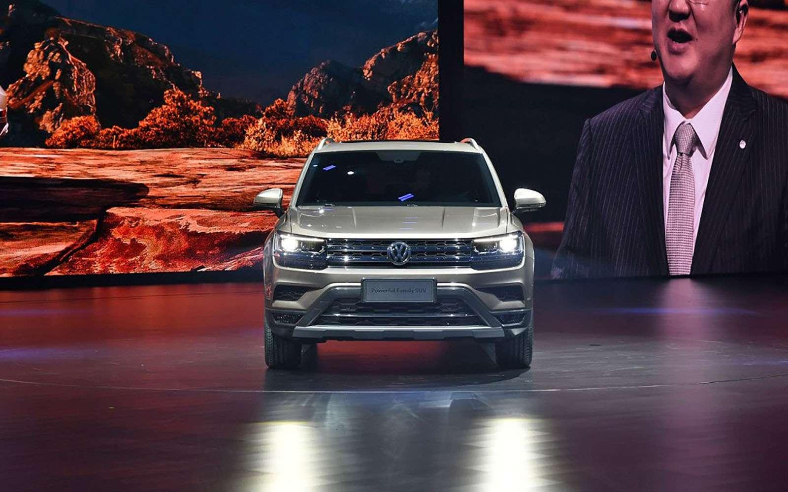 Volkswagen показал два новых кроссовера дляРоссии— фото 856975